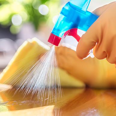 Limpeza e Desinfecção a Seco